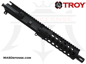 "7.5"" 5.56 / .223 BARRELED UPPER - TROY ALPHA RAIL 7.2"""