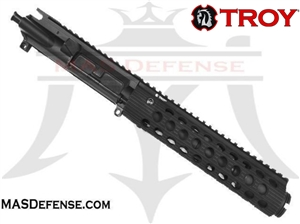 "7.5"" 5.56 / .223 BARRELED UPPER - TROY ALPHA RAIL 9"""