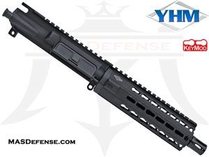 "7.5"" 9MM BARRELED UPPER - YANKEE HILL 7.29"" KR7 KEYMOD"