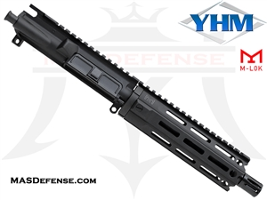 "7.5"" 9MM BARRELED UPPER - YANKEE HILL 7.29"" MR7 M-LOK"