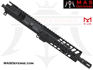 "8.5"" 300 BLACKOUT BARRELED UPPER - MAS NERO 7.25"" M-LOK RAIL"