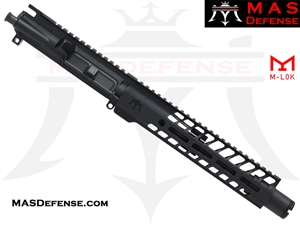 "8.5"" 300 BLACKOUT BARRELED UPPER - MAS NERO 9.87"" M-LOK RAIL"