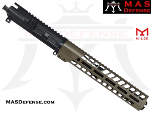 "8.5"" 300 BLACKOUT BARRELED UPPER - MAS NERO 11"" M-LOK RAIL - FDE"