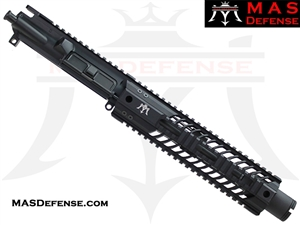 "8.5"" 300 BLACKOUT BARRELED UPPER - MAS SQUADRON 9.87"" LIGHTWEIGHT QUAD RAIL"