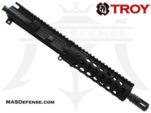 "8.5"" 300 BLACKOUT BARRELED UPPER - TROY ALPHA RAIL 7"""