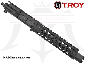 "8.5"" 300 BLACKOUT BARRELED UPPER - TROY ALPHA RAIL 9"""
