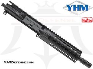 "8.5"" 300 BLACKOUT BARRELED UPPER - YANKEE HILL 7.29"" KR7 KEYMOD"