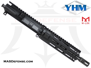 "8.5"" 300 BLACKOUT BARRELED UPPER - YANKEE HILL 7.29"" MR7 M-LOK"