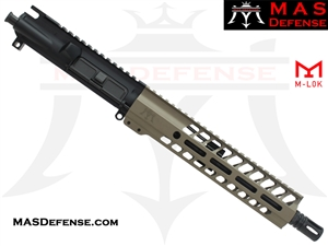 "10.5"" 300 BLACKOUT BARRELED UPPER - MAS NERO 9.87"" M-LOK RAIL - FDE"