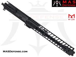 "10.5"" 300 BLACKOUT BARRELED UPPER - MAS NERO 12.62"" M-LOK RAIL"