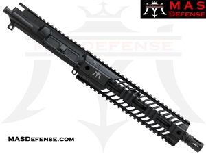 "10.5"" 300 BLACKOUT BARRELED UPPER - MAS SQUADRON 9.87"" LIGHTWEIGHT QUAD RAIL"