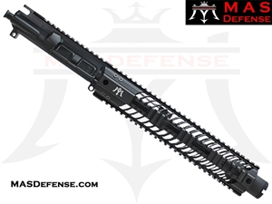 "10.5"" 300 BLACKOUT BARRELED UPPER - MAS SQUADRON 12"" LIGHTWEIGHT QUAD RAIL"