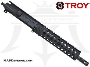 "10.5"" 300 BLACKOUT BARRELED UPPER - TROY ALPHA RAIL 9"""