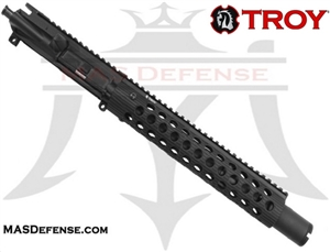 "10.5"" 300 BLACKOUT BARRELED UPPER - TROY ALPHA RAIL 11"""