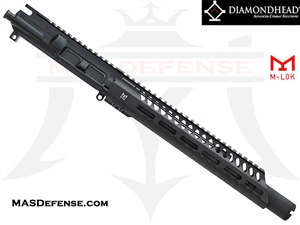 "10.5"" 5.56 / .223 BARRELED UPPER - DIAMONDHEAD 10.25"" VRS T-556 M-LOK"