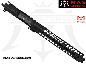 "10.5"" 5.56 / .223 BARRELED UPPER - MAS NERO 12.62"" M-LOK RAIL"