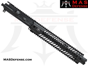 "10.5"" 5.56 / .223 BARRELED UPPER - MAS SQUADRON 12"" LIGHTWEIGHT QUAD RAIL"