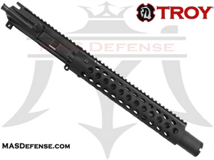 "10.5"" 5.56 / .223 BARRELED UPPER - TROY ALPHA RAIL 11"""