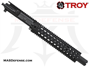 "10.5"" 5.56 / .223 BARRELED UPPER - TROY BRAVO RAIL 11"""
