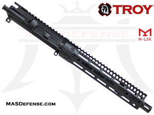 "10.5"" 5.56 / .223 BARRELED UPPER - TROY 10.5"" SOCC105 M-LOK BATTLERAIL"