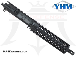 "10.5"" 5.56 / .223 BARRELED UPPER - YANKEE HILL 9.675"" DIAMOND"