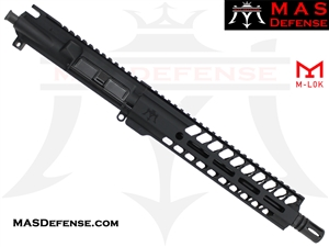 "10.5"" 9MM BARRELED UPPER - MAS NERO 9.87"" M-LOK RAIL"