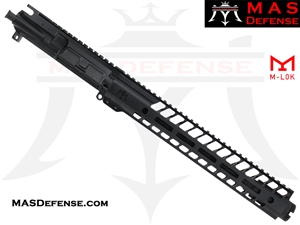"10.5"" 9MM BARRELED UPPER - MAS NERO 12.62"" M-LOK"