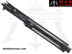 "10.5"" 9MM BARRELED UPPER - MAS SQUADRON 12"" LIGHTWEIGHT QUAD RAIL"
