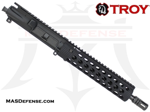 "10.5"" 9MM BARRELED UPPER - TROY ALPHA RAIL 9"""