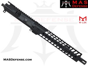 "11.5"" 5.56 / .223 BARRELED UPPER - MAS NERO 11"" M-LOK RAIL"