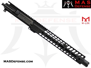 "11.5"" 5.56 / .223 BARRELED UPPER - MAS NERO 12.62"" M-LOK RAIL"