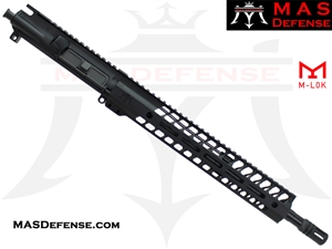"14.5"" 5.56 / .223 BARRELED UPPER - MAS NERO 12.62"" M-LOK RAIL"