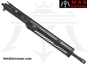 "14.5"" 5.56 / .223 BARRELED UPPER - MAS SQUADRON 12"" LIGHTWEIGHT QUAD RAIL"