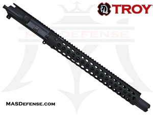 "14.5"" 5.56 / .223 BARRELED UPPER - TROY ALPHA RAIL 15"""