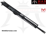 "16"" 300 BLACKOUT BARRELED UPPER - MAS NERO 12.62"" M-LOK RAIL"