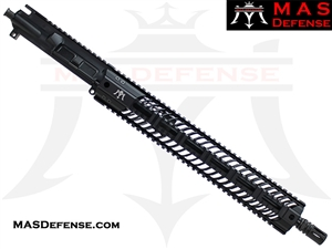 "16"" 300 BLACKOUT BARRELED UPPER - MAS SQUADRON 15"" LIGHTWEIGHT QUAD RAIL"