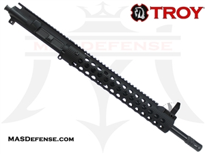 "16"" 300 BLACKOUT BARRELED UPPER - TROY ALPHA RAIL 13"" WITH FRONT SIGHT"