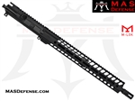 "16"" 300 BLACKOUT BARRELED UPPER - MAS NERO 15"" M-LOK RAIL - CARBINE GAS"