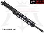 "16"" 5.56 / .223 BARRELED UPPER - MAS SQUADRON 12"" LIGHTWEIGHT QUAD RAIL"