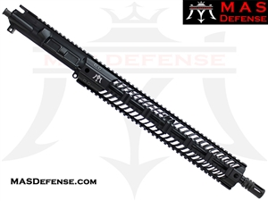 "16"" 5.56 / .223 BARRELED UPPER - MAS SQUADRON 15"" LIGHTWEIGHT QUAD RAIL"