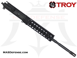 "16"" 5.56 / .223 BARRELED UPPER - TROY ALPHA RAIL 9"""