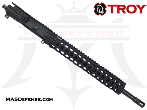 "16"" 5.56 / .223 BARRELED UPPER - TROY ALPHA RAIL 13"""