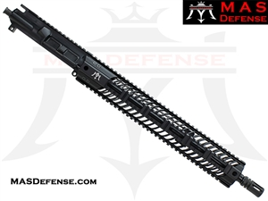 "16"" 5.56 / .223 BARRELED UPPER - MAS SQUADRON 15"" LIGHTWEIGHT QUAD RAIL - MID-LENGTH GAS"