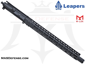 "16"" 5.56 / .223 BARRELED UPPER - UTG SUPER SLIM 17"" M-LOK - MID LENGTH GAS"