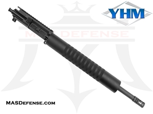 "16"" 5.56 / .223 BARRELED UPPER - YANKEE HILL 12.52"" KNURLED - MID LENGTH GAS"