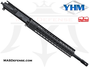 "16"" 5.56 / .223 BARRELED UPPER - YANKEE HILL 12.6"" KR7 KEYMOD - MID LENGTH GAS"