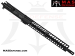 "16"" 7.62x39 BARRELED UPPER - MAS NERO 15"" M-LOK RAIL"