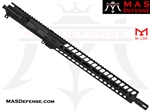 "16"" 9MM BARRELED UPPER - MAS NERO 15"" M-LOK RAIL"