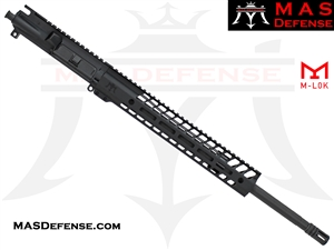"18"" .223 WYLDE BARRELED UPPER - MAS NERO 12.62"" M-LOK RAIL"