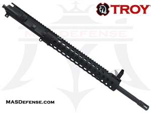 "18"" .223 WYLDE BARRELED UPPER - TROY ALPHA RAIL 13""  WITH FRONT SIGHT"